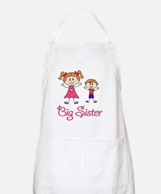 Big Sister with Little Brother Apron