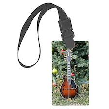Gibson Mandolin Under the Christ Luggage Tag