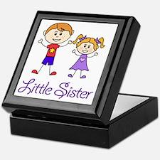 Little Sister Personalized! Keepsake Box