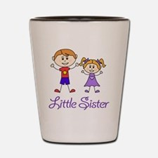 Little Sister Personalized! Shot Glass