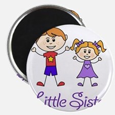 Little Sister Personalized! Magnet