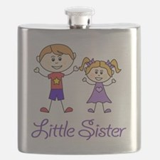 Little Sister Personalized! Flask