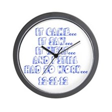 12-21-12 Wall Clock
