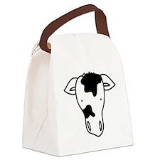 Cow Head Canvas Lunch Bag