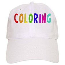Coloring wht Baseball Cap