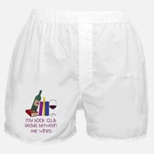 My Book Club Boxer Shorts