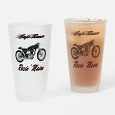 Cafe Racer Masons Drinking Glass