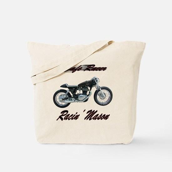 Cafe Racer Masons Tote Bag