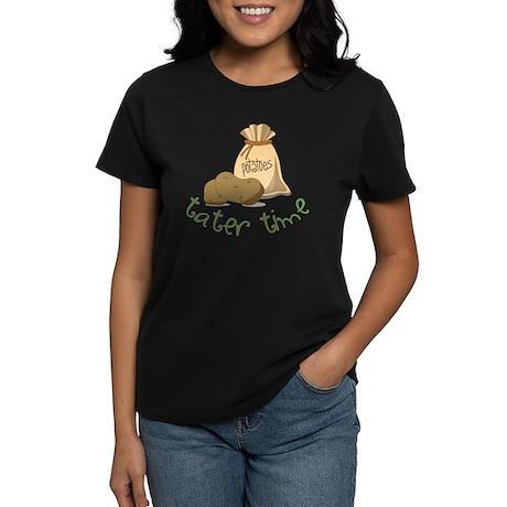 Tater Time Women's Dark T-Shirt