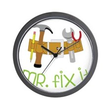 Mr. Fix It Wall Clock
