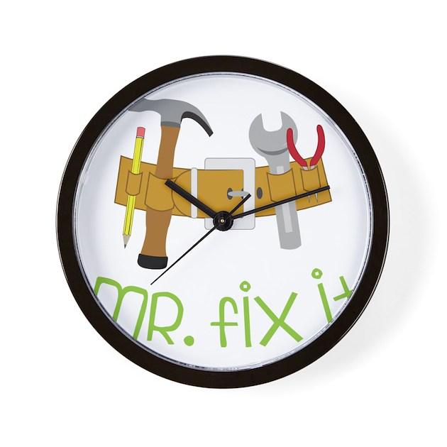 Mr. Fix It Wall Clock by Admin_CP71974099
