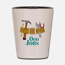 Odd Jobs Shot Glass