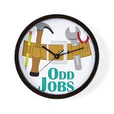 Odd Jobs Wall Clock