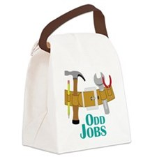 Odd Jobs Canvas Lunch Bag