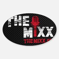 MIXX 3.5x5.5 sticker Sticker (Oval)