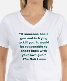 IF SOMEONE HAS A GUN AND IS Shirt