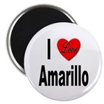 I Love Amarillo Magnet