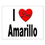 I Love Amarillo Small Poster