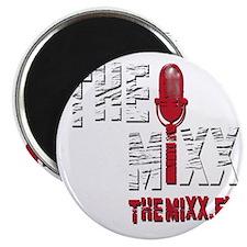 MIXX 10x10 Logo Magnet