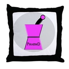 PharmD Throw Pillow