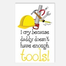 Enough Tools Postcards (Package of 8)