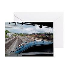 Conrail Ride Along Greeting Card