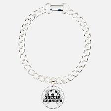 Soccer Grandpa (cross) Bracelet