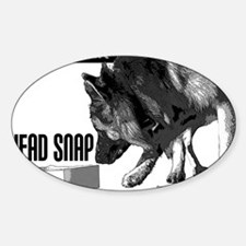 nose work german shepard dog  Decal
