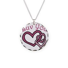 Luv You Necklace