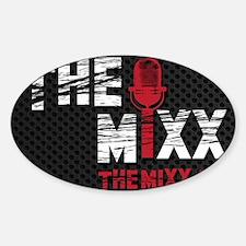 MIXX 2x3 Magnet Sticker (Oval)