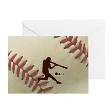 iHit Baseball Greeting Card