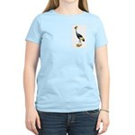 Yellow Crested Crane Wearing Shoes Women's Light T