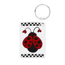 Ladybug Bug Keychains