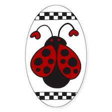 Ladybug Bug Decal