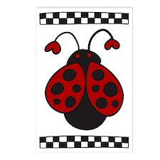 Ladybug Bug Postcards (Package of 8)