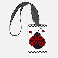 Ladybug Bug Luggage Tag