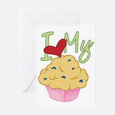 Love Muffin Greeting Card
