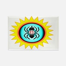 SOUTHEAST INDIAN WATER SPIDER Rectangle Magnet