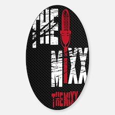 MIXX Journal Sticker (Oval)