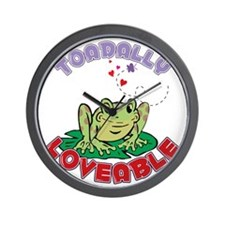 Toadally Loveable Wall Clock