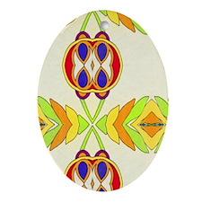 SLIDER Oval Ornament