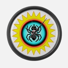 SOUTHEAST INDIAN WATER SPIDER Large Wall Clock