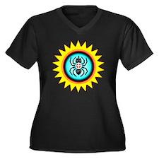 SOUTHEAST IN Women's Plus Size Dark V-Neck T-Shirt