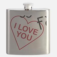 Raggedy Fan Flask