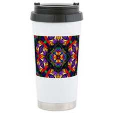 Kaleidoscope Fractal Travel Coffee Mug