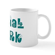 Social Work Floral Small Mug