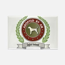 Foxhound Adopted Rectangle Magnet (10 pack)