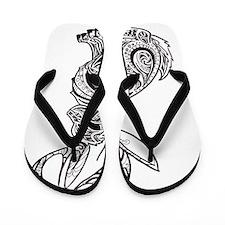 Jackalope Flip Flops