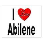 I Love Abilene Small Poster