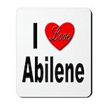 I Love Abilene Mousepad
